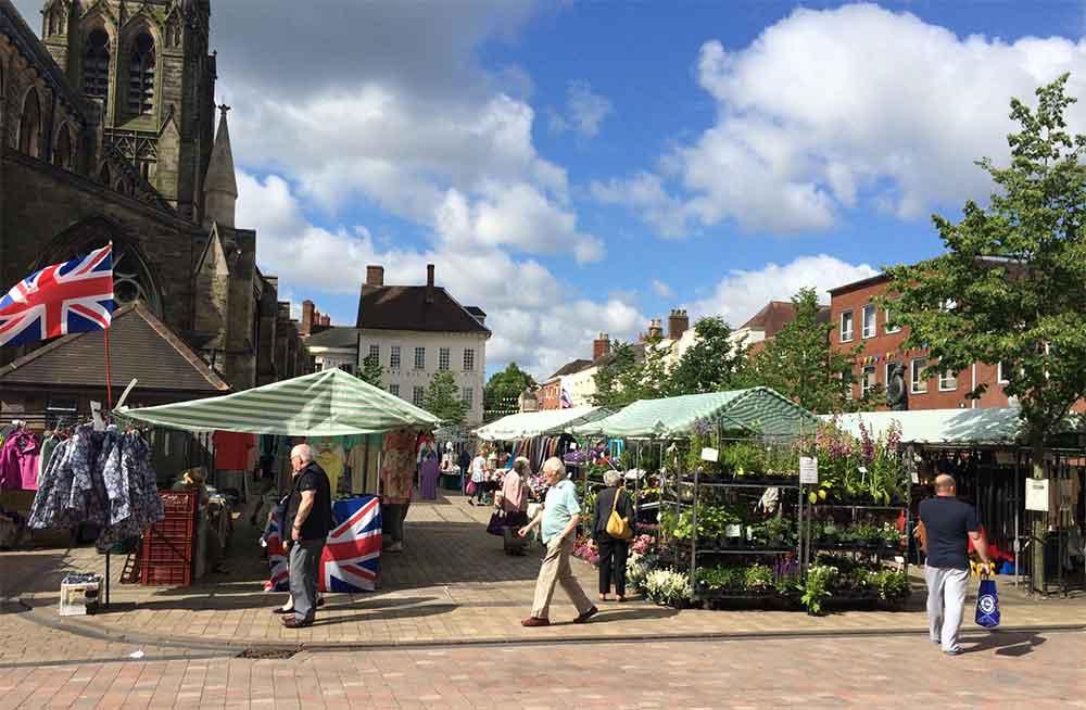 Lichfield Market Square